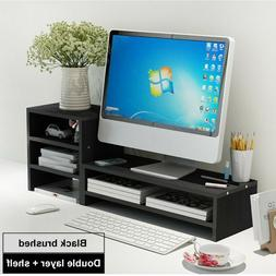 tv display height increase neck notebook stand