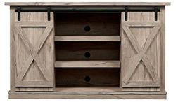Comfort Smart Wrangler Sliding Barn Door TV Stand, Sargent O