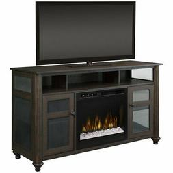 """Dimplex Xavier 56.13"""" TV with Electric Fireplace"""